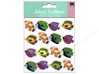 Jolee's Boutique Stickers Fish Repeat