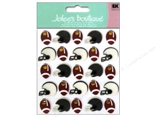 Jolee's Boutique Stickers Footballs & Helmets Repeat