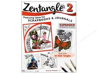 Zentangle 2: Scrapbooks & Journals Book - Expanded Workbook Edition