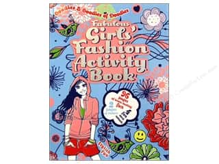 Book House Fabulous Girl's Fashion Activity Book by Victoria England