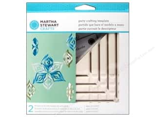 Martha Stewart Tools Template Ornament Triangle Small