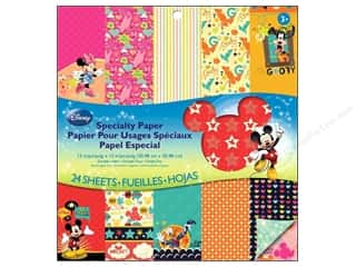 scrapbooking & paper crafts: EK Paper Pad Disney Special Mickey Family