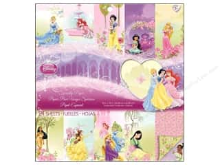 scrapbooking & paper crafts: EK Disney 12 x 12 in. Paper Pad Special Princess