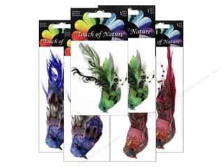 Midwest Design Artificial Birds 4 1/2 in. Feather Fancy Assorted 1 pc.