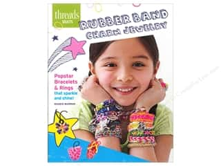 beading & jewelry making supplies: Taunton Press Threads Select Rubber Band Charm Jewelry Book