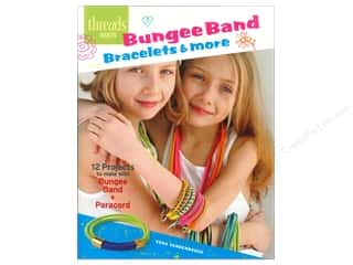 beading & jewelry making supplies: Taunton Press Threads Select Bungee Band Bracelets & More Book