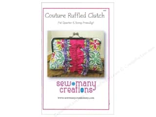 Sew Many Creations Couture Ruffled Clutch Pattern