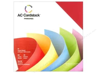 Weekly Specials Scrapbooking Organizers: American Crafts 12 x 12 in. Cardstock Pack Primaries