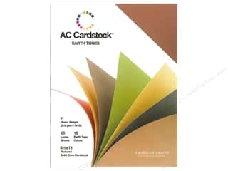 Weekly Specials Scrapbooking Organizers: American Crafts 8 1/2 x 11 in. Cardstock Pack Earthtones