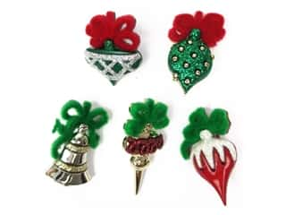 craft & hobbies: Jesse James Embellishments Christmas Ornaments