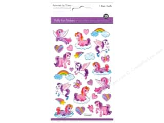 scrapbooking & paper crafts: Multicraft Sticker Puffy My Pet Pony