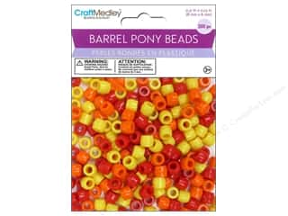 Multicraft Bead Barrel Pony Sunshine 200pc