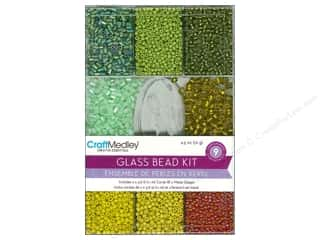 beading & jewelry making supplies: Multicraft Bead Glass Kit Tropical