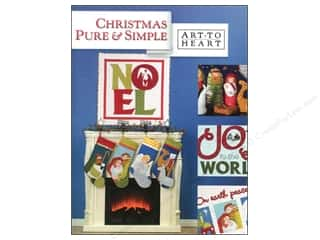 Books & Patterns: Art to Heart Christmas Pure & Simple Book by Nancy Halvorsen