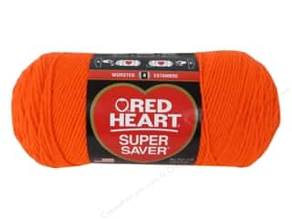 yarn & needlework: Red Heart Super Saver Yarn 364 yd. #3251 Flame