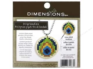 Weekly Specials Pattern: Dimensions Cross Stitch Kit Circle Peacock Natural