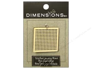 Weekly Specials Stitch Witchery: Dimensions Wood Blanks Square Large 1pc