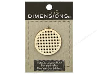Weekly Specials Stitch Witchery: Dimensions Wood Blanks Circle Large 1pc