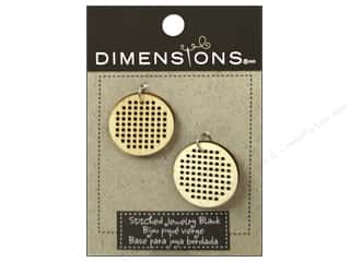 Weekly Specials Stitch Witchery: Dimensions Wood Blanks Circle Small 2pc