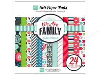Echo Park Paper Company: Echo Park Paper Pad 6 x 6 in. We Are Family