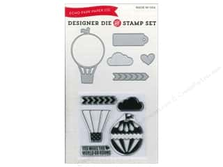 Echo Park Designer Die & Stamp Set We Are Family Collection Hot Air Balloon