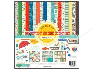 Weekly Specials Echo Park Collection Kit: Echo Park 12 x 12 in. Collection Kit Walking On Sunshine