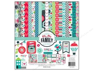 Clearance Echo Park Collection Kit: Echo Park 12 x 12 in. Collection Kit We Are Family