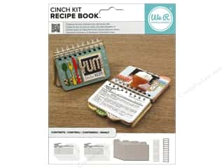 patterned paper kit: We R Memory Keepers The Cinch Recipe Book Kit