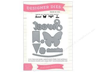 dies: Echo Park Designer Dies We Are Family Sweet, Butterfly, Banner