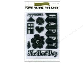 Echo Park Clear Stamp Set We Are Family Happy Family