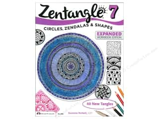 scrapbooking & paper crafts: Design Originals Zentangle 7 Expanded Edition Book