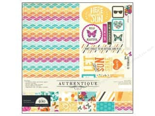 stickers: Authentique 12 x 12 in. Collection Kit Radiant