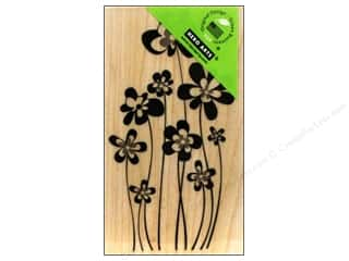 Rubber Stamps: Hero Arts Rubber Stamp Jumping Flowers