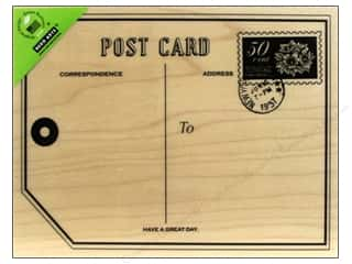 Clearance Art Impressions Rubber Stamp: Hero Arts Rubber Stamp Big Post Card