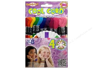 Weekly Specials Scrapbooking Kits: Janlynn Cool Cord Pack Friendship Bracelet 50pc
