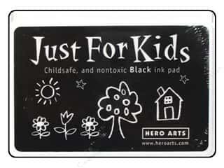 ink pad: Hero Arts Just For Kids Ink Pad Black