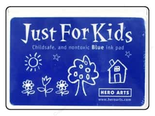 ink pads: Hero Arts Just For Kids Ink Pad Blue