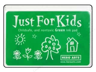 stamps: Hero Arts Just For Kids Ink Pad Green