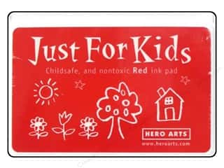 stamps: Hero Arts Just For Kids Ink Pad Red
