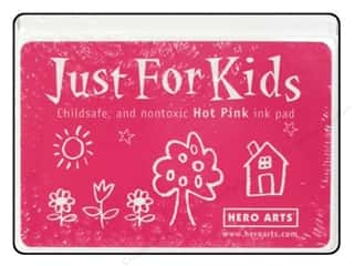 stamps: Hero Arts Just For Kids Ink Pad Hot Pink