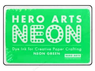 stamps: Hero Arts Neon Dye Ink Pad Neon Green