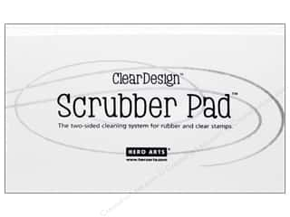 stamps: Hero Arts Clear Design Scrubber Pad
