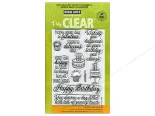 Clearance Art Impressions Rubber Stamp: Hero Arts Poly Clear Stamps Yummy Treats