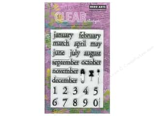 Clearance Plaid Stamps Clear: Hero Arts Poly Clear Stamps Make A Date