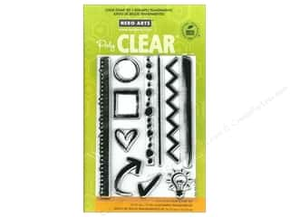 Clearance Plaid Stamps Clear: Hero Arts Poly Clear Stamps Notebook Essentials