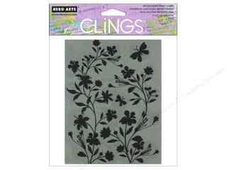 Clearance Art Impressions Rubber Stamp: Hero Arts Cling Stamp Silhouette Vines
