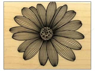 Rubber stamps: Hero Arts Rubber Stamp Etched Daisy