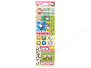 stickers  cardstock: SandyLion Sticker Cardstock Glitter Hello Kitty