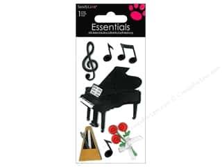 scrapbooking & paper crafts: SandyLion Sticker Essentials Piano