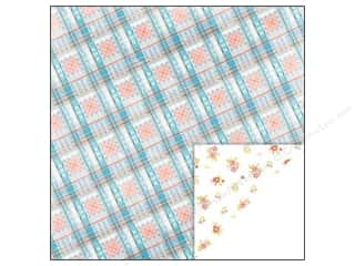 Glitz Design 12 x 12 in. Paper Brightside Plaid